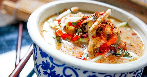 Thai Coconut Cabbage Soup