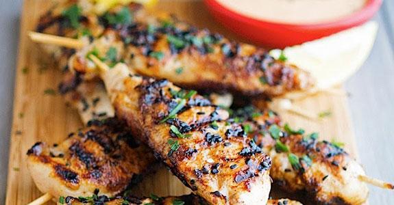 Thai Flavored Honey Glazed Chicken