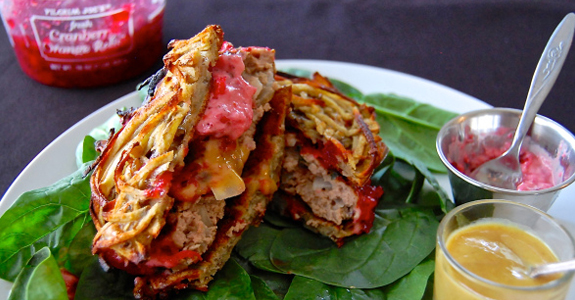 Turkey-Burgers-with-Cranberry-Aioli-and-Sweet-Potato-Buns