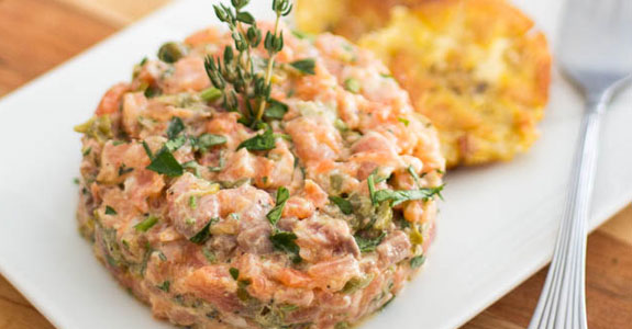 Two-Salmon-Tartare