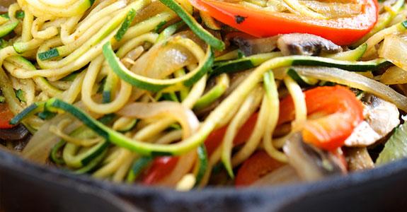 Veggie Fajita Noodles