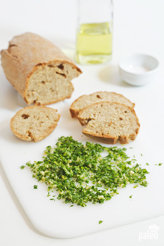 easy garlic bread ingredients