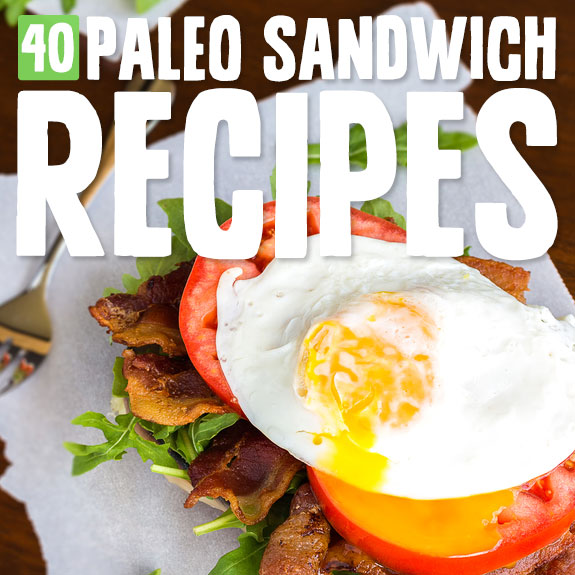 You'll love these creative Paleo sandwiches! They are low carb and utterly delicious.