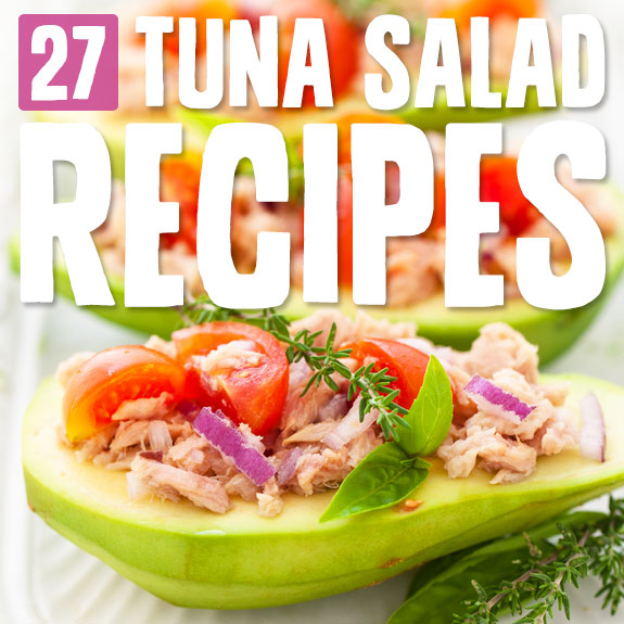 Tuna salad makes the perfect healthy meal or snack. It is packed with protein, fresh and easy on your stomach. Here are my favorites!