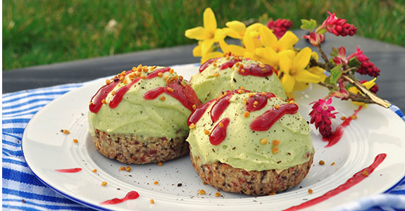 Avocado and Lime Cupcakes