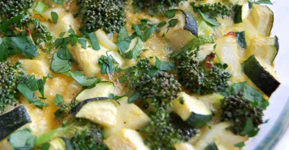 Broccoli-Egg-Bake
