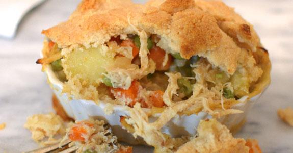 Buttery Veggie Chicken Pot Pie