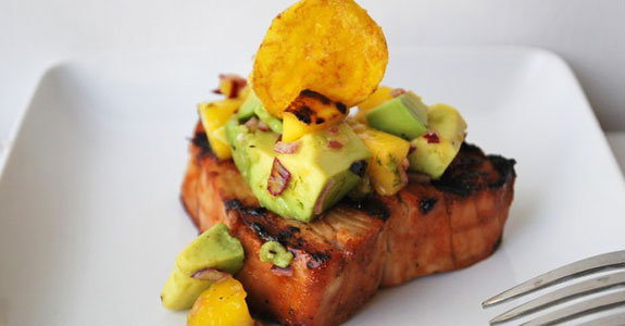 Caribbean-Grilled-Tuna-Steak-With-Mango-Avocado-Salsa
