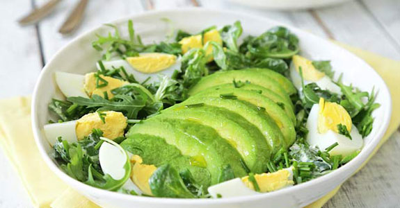 Easy Avocado and Egg Salad