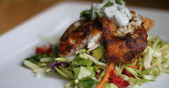 Fish-Taco-Salad