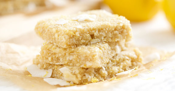 Lemon Meringue Pie Energy Bars