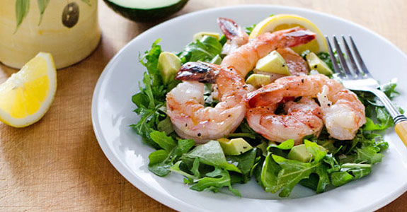 Shrimp-and-Arugula-Salad