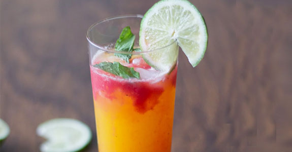 Summer Strawberry Mocktail