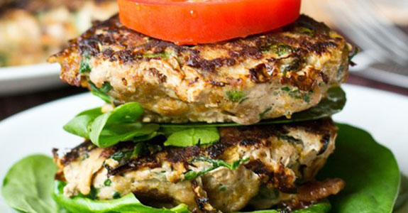 Sweet-Potato-Spinach-Bacon-Burgers