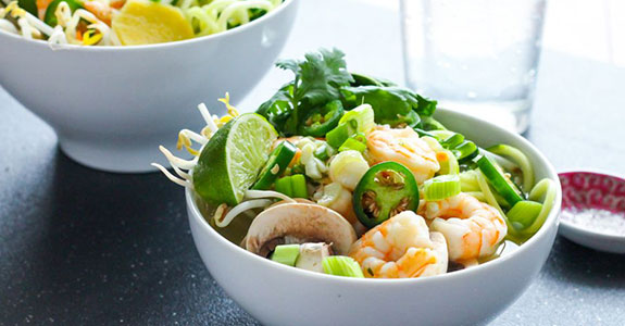 Zucchini-Noodle-Shrimp-Pho