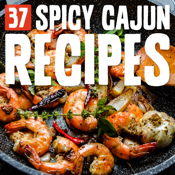 These Cajun dishes are spicy, full of flavor and so comforting. I love Cajun food! Try at least 3 of these and you will be hooked.