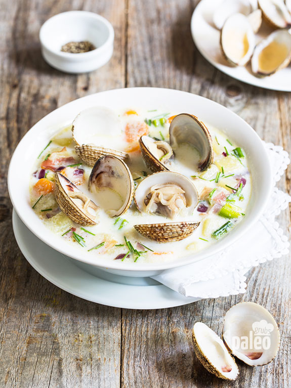 clam chowder recipe