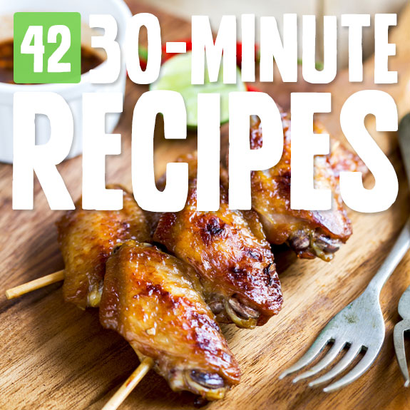 Next time you are in a hurry, try one of these super simple, 30-minute Paleo meals and snacks.