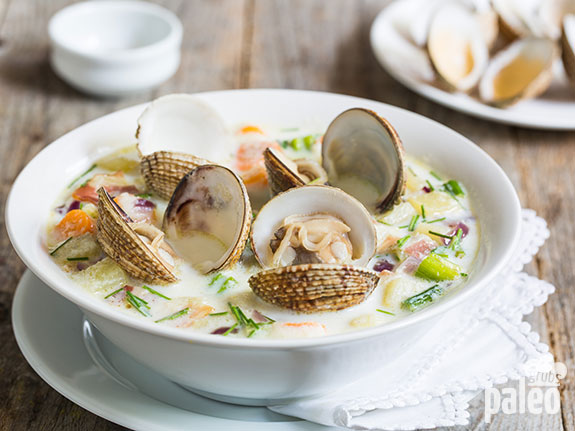 healthy clam chowda