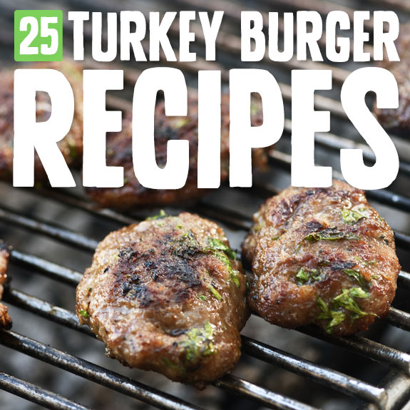 I love these turkey burgers! These recipes are surprisingly more flavorful than beef burgers and so much better for you.