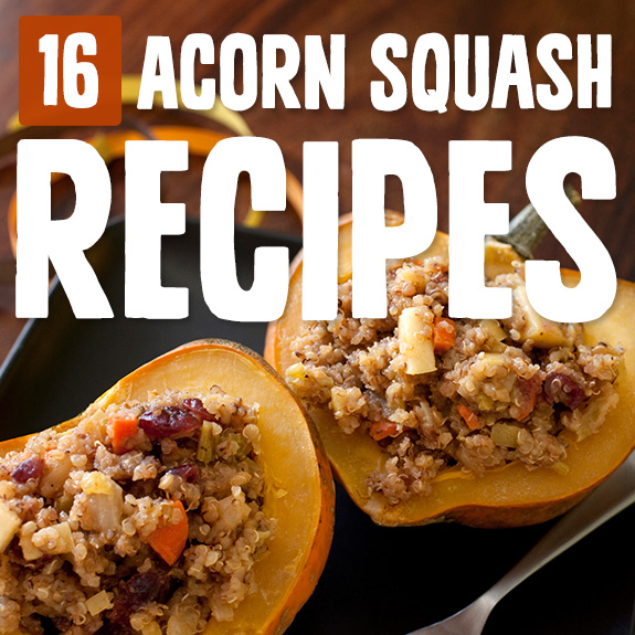 When acorn squash is in season I'm buying them up at the farmer's market and using them in one of these acorn squash recipes.