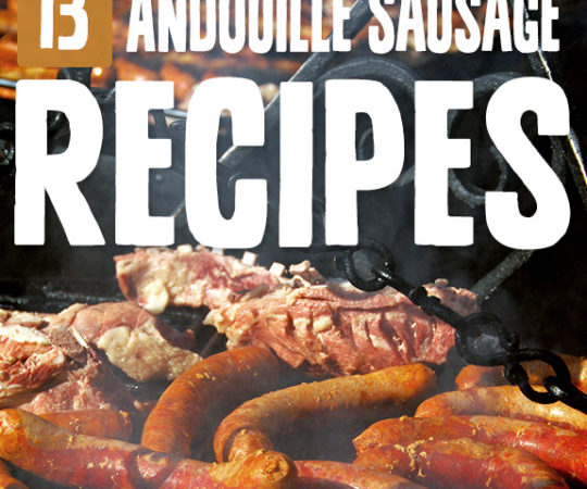 There's something about andouille sausage that sets it apart from other sausages. In this collection of andouille sausage recipes there's over a dozen ways to have it.