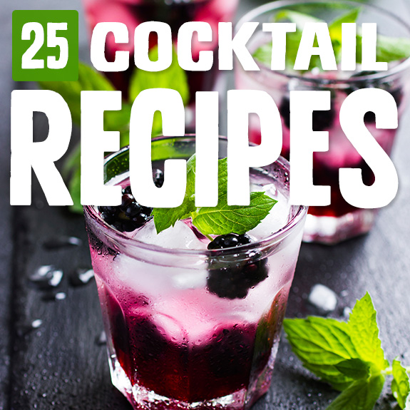 Sometimes I just want a nice cocktail to sit back and unwind. The alcohol is optional in these cocktail recipes, and the other ingredients are Paleo friendly.