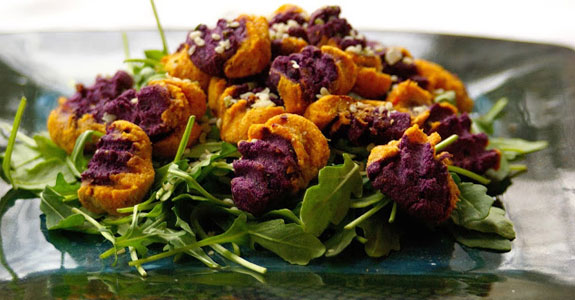 Dual-Colored-Sweet-Potato-Gnocchi
