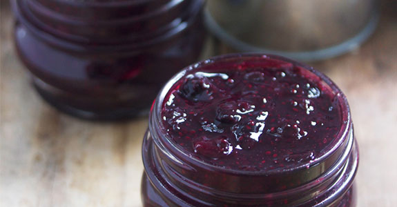 Easy-Blueberry-Jam