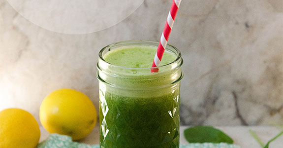 Green-Spinach-Lemonade