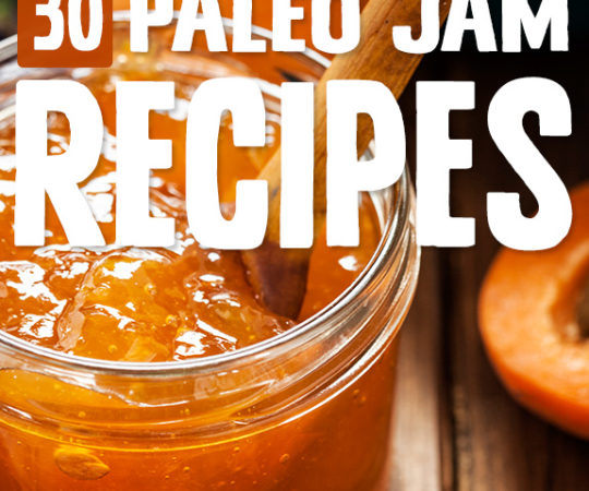 A nice spreadable jam is the perfect topping to a slice of Paleo toast, and once I found these jam recipes I brought back an old favorite breakfast item.