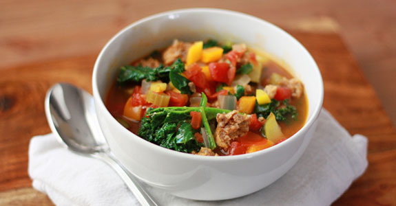 Sausage-and-Vegetable-Soup