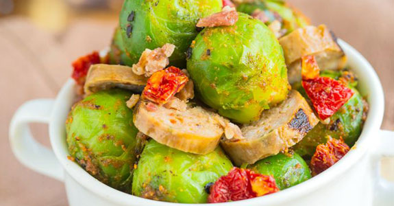 Warm-Brussels-Sprouts-and-Chorizo-Salad