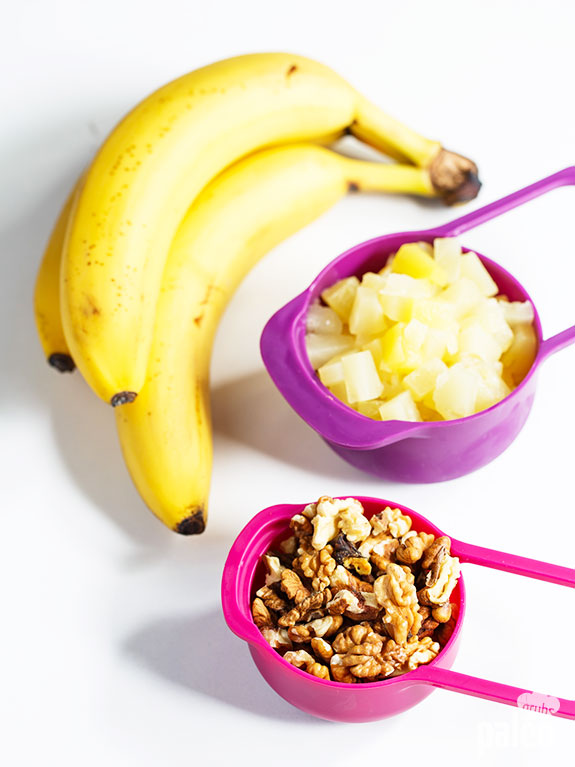 banana pineapple and nuts