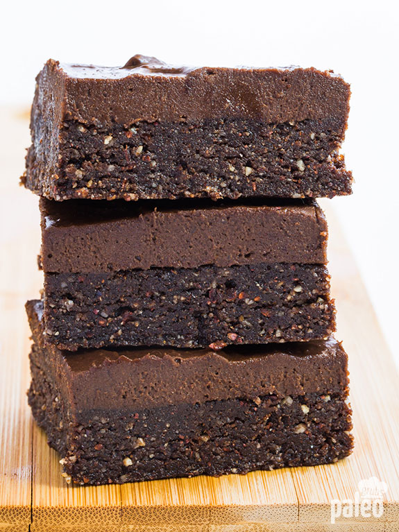 Attention all chocoholics! If you are in need of a simple, quick and wholesome brownie recipe that will fulfill all of your chocolate desires, this is it! You need to try this one.