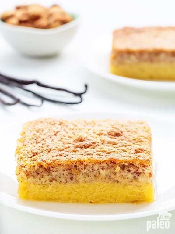 vanilla custard cake recipe