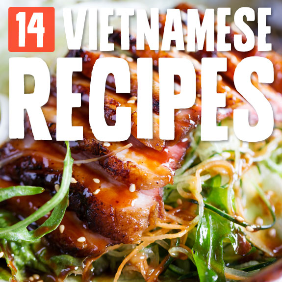 Next time you are craving a hot bowl of pho or spicy pork salad, try one of these authentic and delicious Vietnamese recipes.