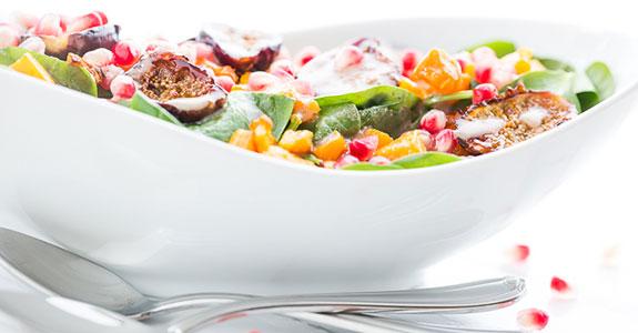 Caramelized-Roasted-Fig-Spinach-Salad