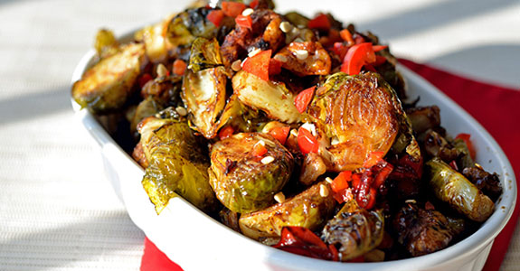 Fiery-Brussels-Sprouts