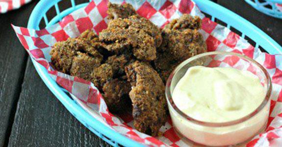 Crispy Spiced Chicken Livers