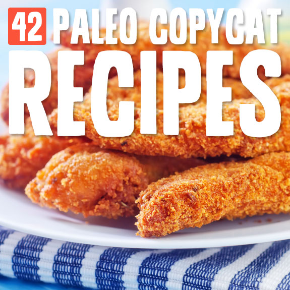 You need to try these Paleo copycat recipes! I never knew I could make so many of my favorites, and still be Paleo.