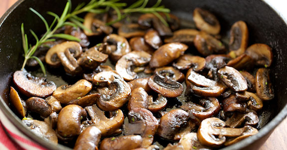 Garlic Butter Sauteed Mushrooms