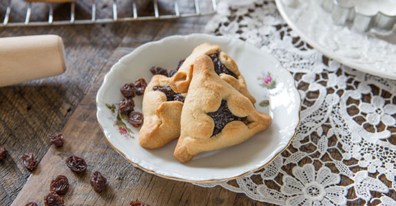 Grain Free Hamantaschen Cookies for Purim