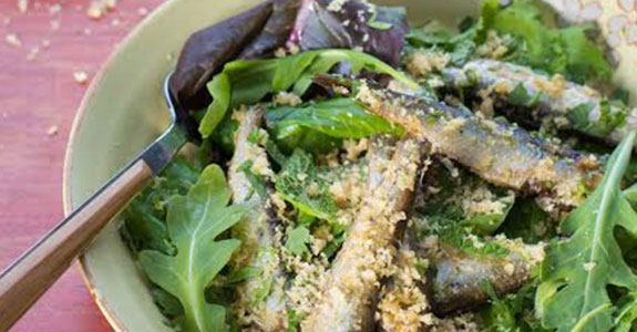 Pan Fried Sardines