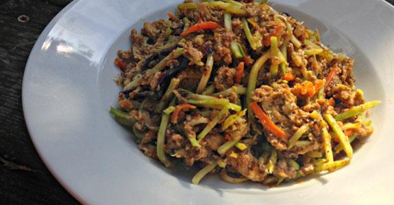 Spicy Sardine Scramble