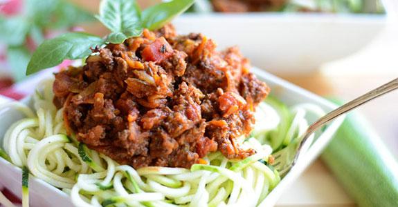 Weeknight Zucchini and Beef Ragout