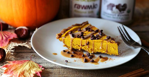 Wholesome Vegan Pumpkin Cheesecake