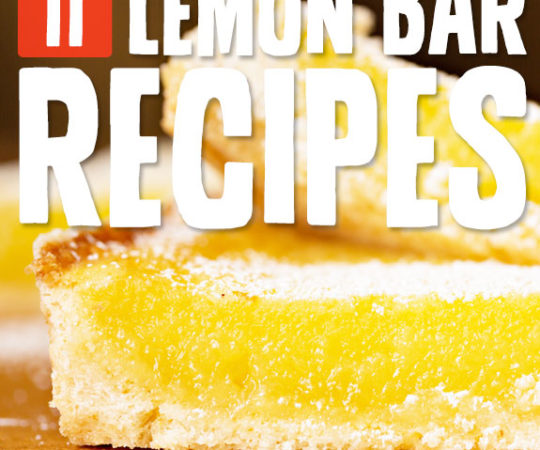 You need to try these lemon bar recipes! They are the best lemon bars I have tried. Super tart with a sweet finish. YUM!!!