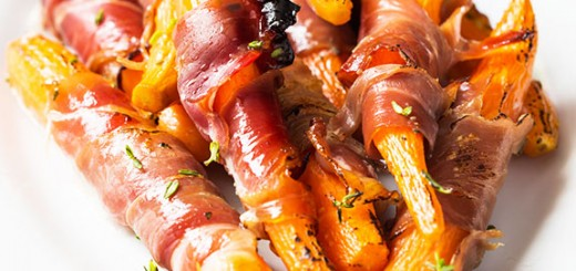 These prosciutto wrapped carrots are to die for! You've never had carrots like these. The perfect balance of salty and sweet.
