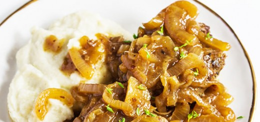 Enjoy our Paleo version of Salisbury steak and discover just how delicious it can be. Made with ground beef and topped with caramelized onion gravy, it's sure to be a hit!